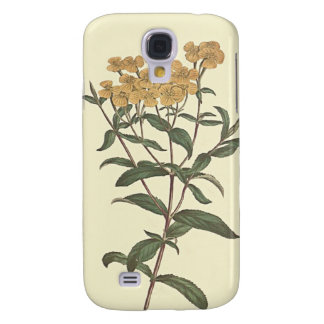 Chili Marigold Botanical Illustration