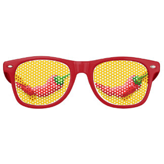 Chili pepper retro sunglasses