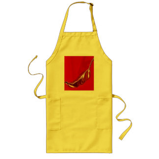 Chili Pepper Yellow Apron