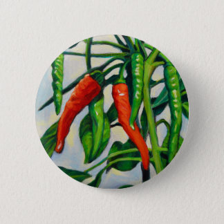 Chili Peppers 2 Inch Round Button