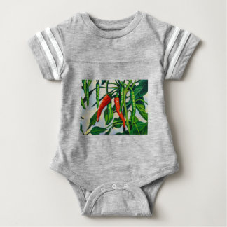 Chili Peppers Baby Bodysuit