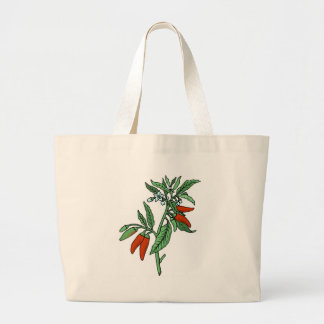 Chili Peppers Canvas Bag