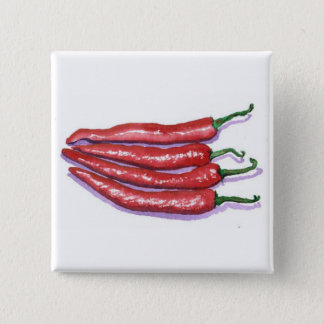 Chili Peppers Button