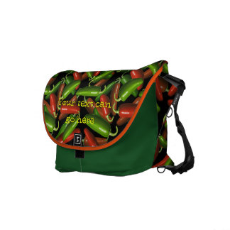 Chili Peppers Commuter Bags