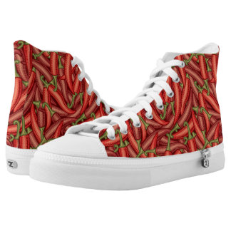 Chili Peppers High Tops