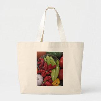 Chili Peppers Jumbo Tote Bag