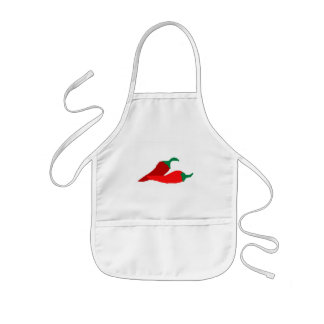 Chili peppers Kids apron