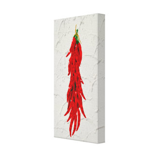 Chili Peppers Kitchen Art Pannel Canvas Print