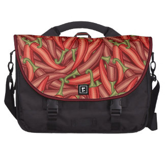 Chili Peppers Laptop Messenger Bag