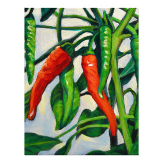 Chili Peppers Letterhead