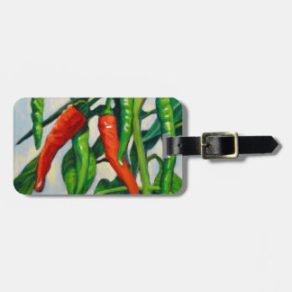 Chili Peppers Luggage Tag