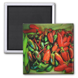 Chili Peppers Magnet