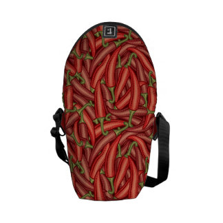 Chili Peppers Courier Bags