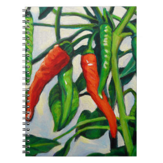 Chili Peppers Notebooks
