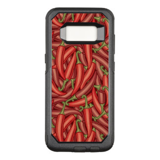 Chili Peppers OtterBox Commuter Samsung Galaxy S8 Case
