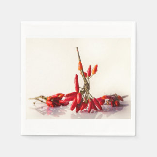 Chili Peppers Paper Napkin