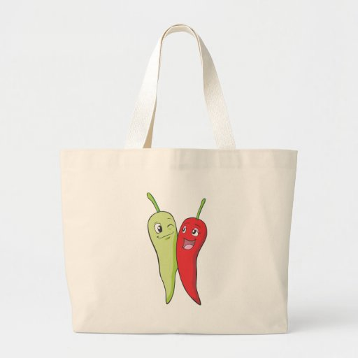 Chili Peppers T Shirt | Red Green Chili Peppers T Tote Bag