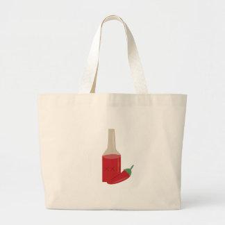 Chili Sauce Jumbo Tote Bag