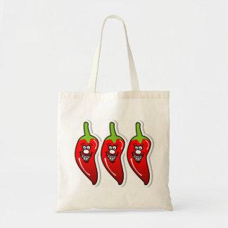 Chili Smile *Budget Tote 1 Budget Tote Bag