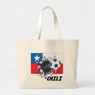 Chili Soccer Fan gear Tote Bag