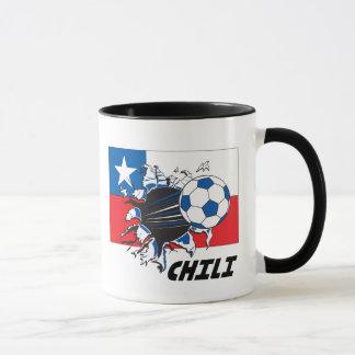 Chili Soccer Fan gear Mug