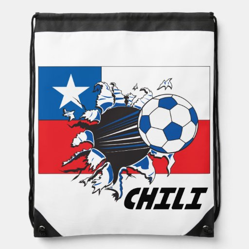 Chili Soccer Team Cinch Bags