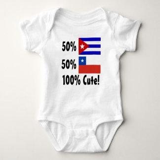 Chilien du Cubain 50% de 50% 100% mignon Body