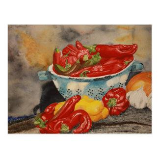 Chilies! Postcard
