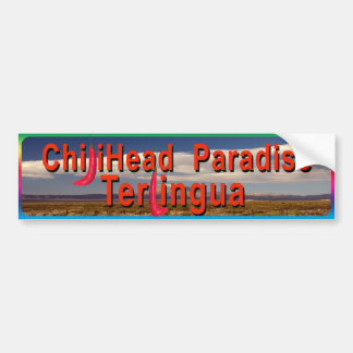 Chiliheads Terlingua Bumper Sticker