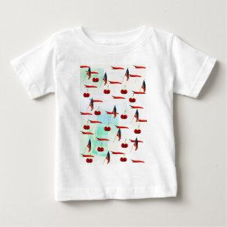 CHILIS AND CHERRIES AMERICANA BABY T-Shirt