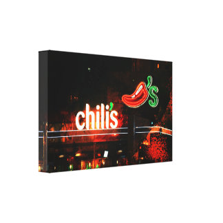 Chili's Canvas Print