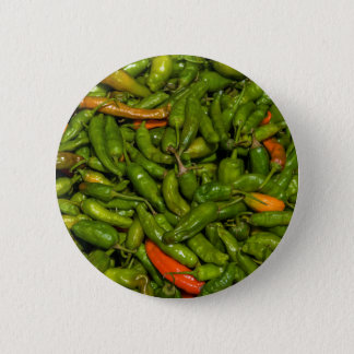 Chilis For Sale At Market 2 Inch Round Button