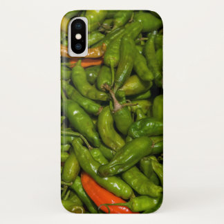 Chilis For Sale At Market iPhone X Case