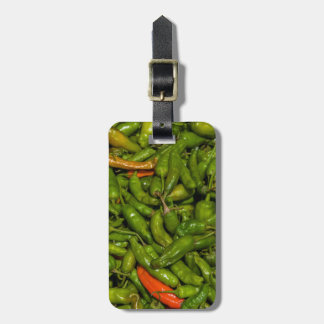 Chilis For Sale At Market Luggage Tag