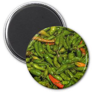 Chilis For Sale At Market Magnet