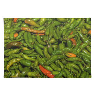 Chilis For Sale At Market Placemat