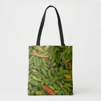 Chilis For Sale At Market Tote Bag