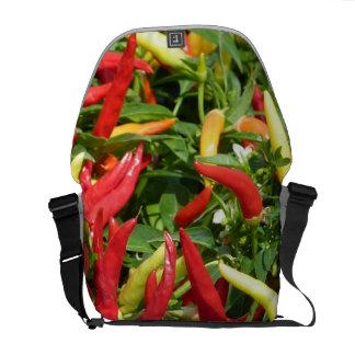 Chilis Growing Messenger Bags