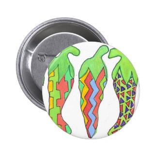 Chilis Incognito Pinback Button