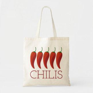 Chilis Tote Bag