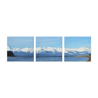 Chilkat Mountain Range Canvas Print