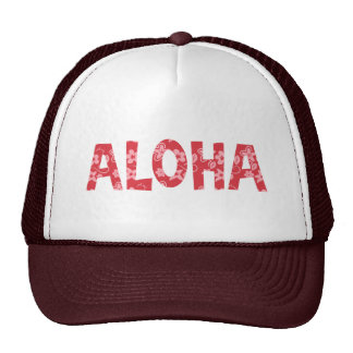 Chill Aloha Floral Pattern Hat