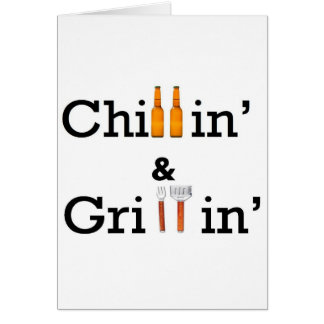 chill and grill card