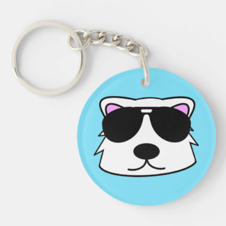 Chill Bear Keychain