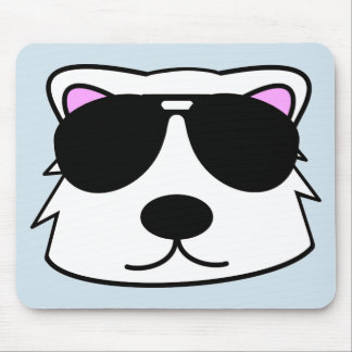 Chill Bear Mouse Pad