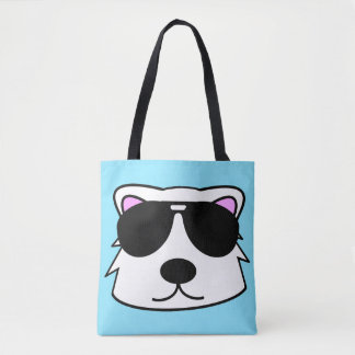 Chill Bear Tote Bag