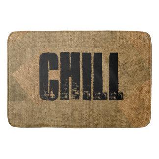 "Chill ""Burlap"" bathmat"