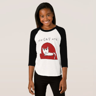 CHILL CAT BASEBALL TEE