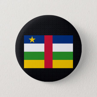 Chill Flag of Central African Republic 2 Inch Round Button