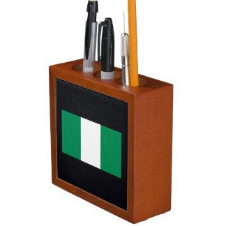 Chill Flag of Nigeria Desk Organizer